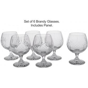 Set of 6 Brandy Glasses