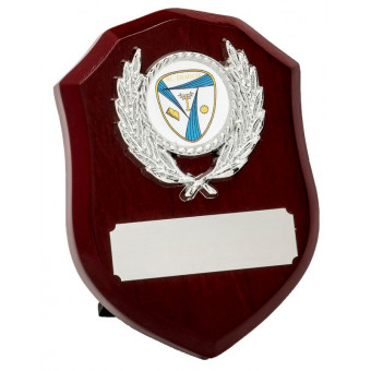 Rosewood and Silver Shield...