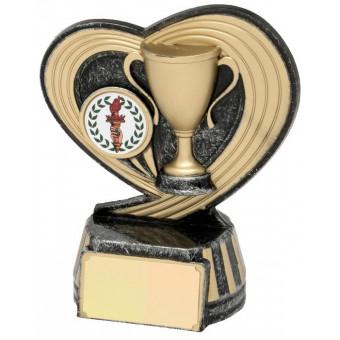 Tennis Achievement Trophy 12cm