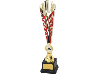 Tennis Ty-Cone Gold and Red Trophy...