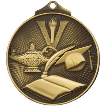 3D Academic Antique Gold Medal