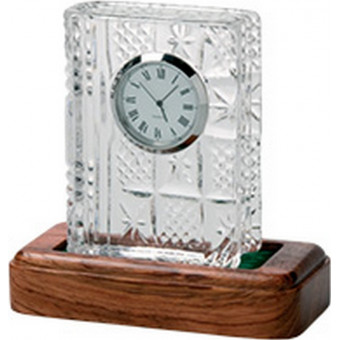 Small Mantle Crystal Clock...