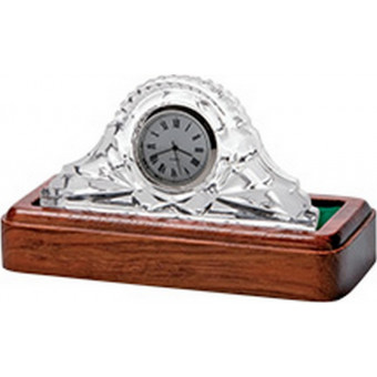 Small Crystal Clock 8.5cm