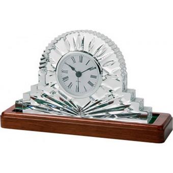Large Crystal Clock 14cm