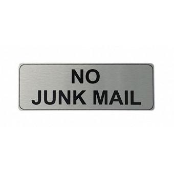 170x60mm No Junk Mail...