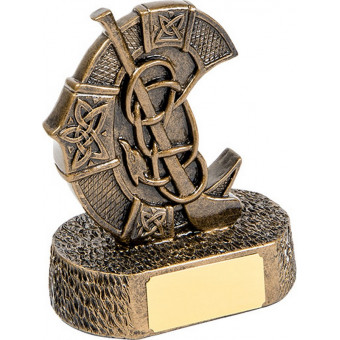 Bronze Camogie Crest 13cm