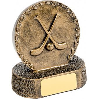 Bronze Hurling Trophy 12.5cm