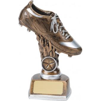 Resin Boot Trophy 18cm