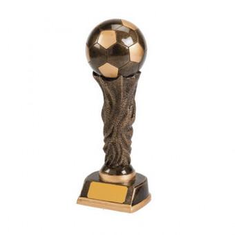 Resin Soccer Ball Trophy 25cm