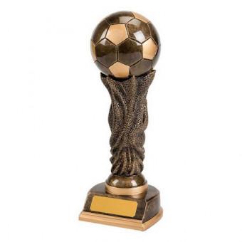 Resin Soccer Ball Trophy 30cm