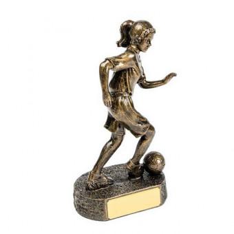 Ladies Soccer Resin Trophy...