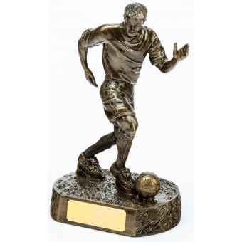 Soccer Resin Trophy 24cm