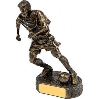 Soccer Resin Trophy 23cm