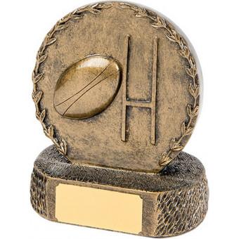 Rugby Bronze Trophy 12.5cm