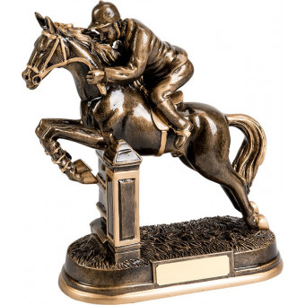 Horse Resin Trophy 22.5cm