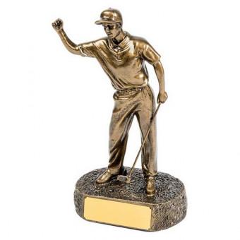 Bronze Golf Figure 22.5cm