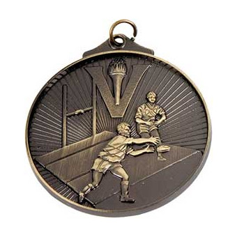 Rugby 3D Torch Antique Gold...