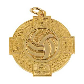 Gaelic Ball 33mm Gold Medal