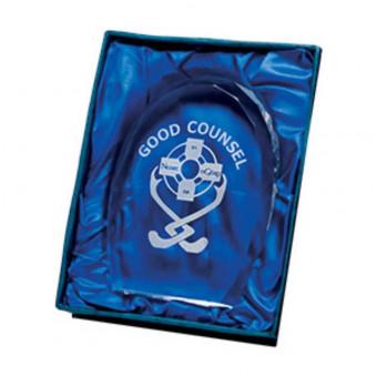 Oval Glass Award 10.5cm