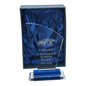 Curved Top Glass Award 18.5cm