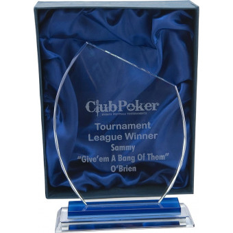 Pointed Glass Award 22.5cm