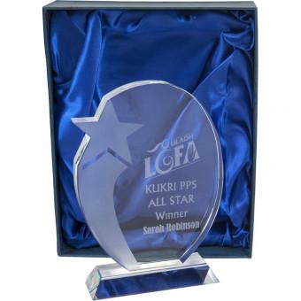 Star Glass Award 19cm