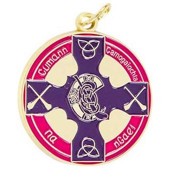 Camogie Celtic Cross Enamel...