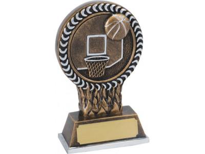 Basketball Resin Trophy 12.5cm