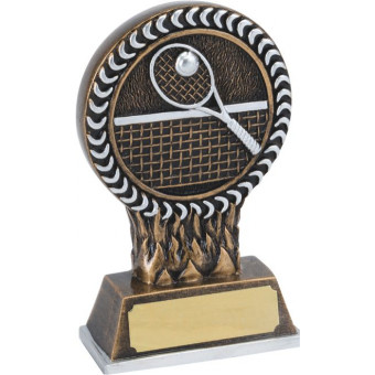 Tennis Resin Trophy 12.5cm