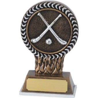Hurling Resin Trophy 12.5cm