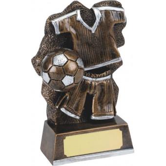 Resin Soccer Trophy 12cm