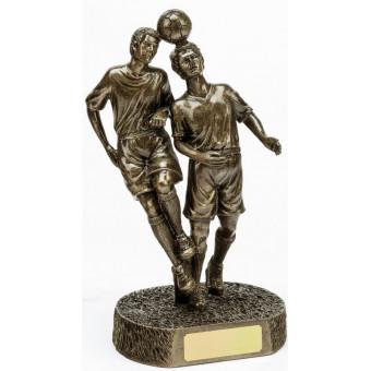 Bronze Double Soccer Trophy...