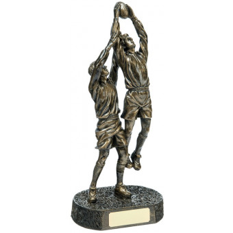 Double Rugby Figure 35.5cm