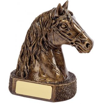 Bronze Horse Head 17cm