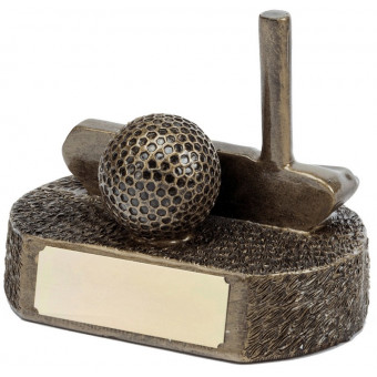Bronze Golf Award 10.5cm