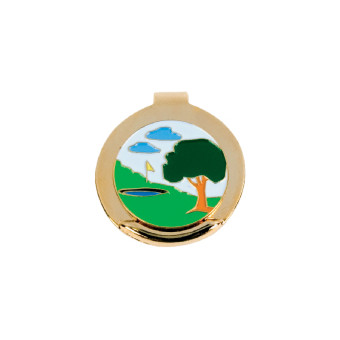 Golf Ball Marker Gold (Enamel)