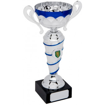 Classic Silver and Blue Cup...