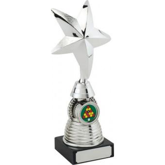 Golf 3D Star Silver Trophy...