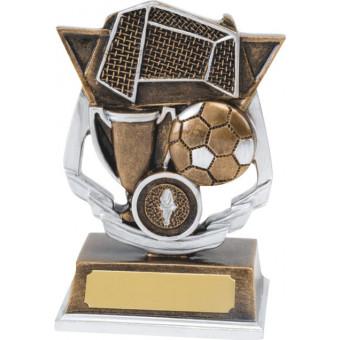 Resin Soccer Trophy 14cm