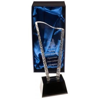 Wave Glass Award 22.5cm