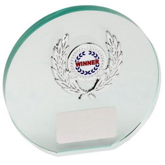 Round Glass Award 13.5cm